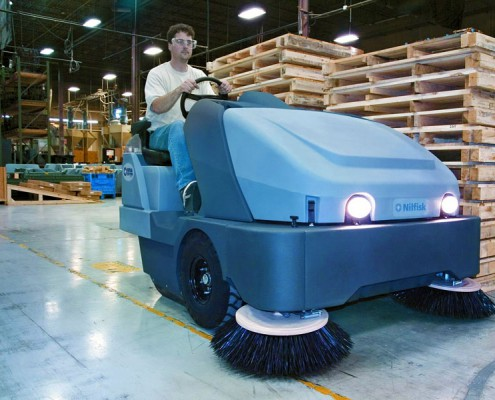 Industrial Sweeper