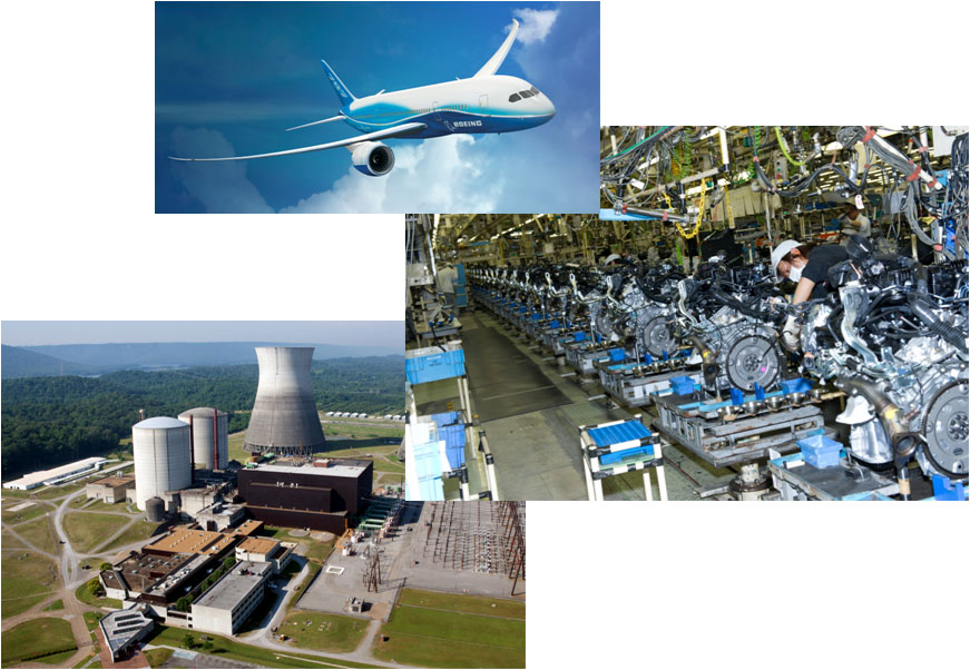 Our staff enjoys a broad technical background of diverse industries and technical challenges.